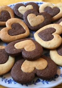 卵白クッキー ココア