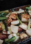 かぶターサイ蜂蜜マスタード(簡単)小松菜