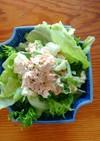 白菜の菜の花サラダ