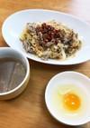サッポロ一番で!卵つけ麺