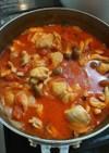 ズボラ女子が作る鶏モモ肉のトマト煮