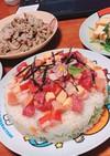 ちらし寿司ケーキ ひな祭り