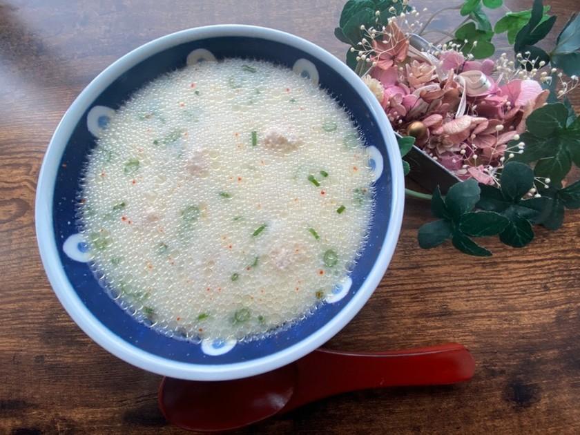 ウズベキスタン♡ママの白いライススープ