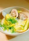 ハマグリとキャベツの簡単ミルクスープ