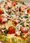 ヘルシー野菜ピザ