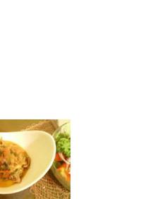 ラム肉のトマココ煮