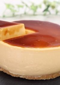 濃厚チーズプリンケーキ