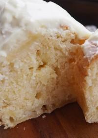 りんごのパウンドケーキ〜チーズクリーム〜