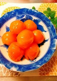 金柑の蜂蜜甘露煮