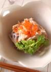 カニかまと根菜の明太コールスロー♪