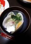 蛤のお吸い物(雛祭りバージョン)
