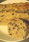 おからとゆで小豆の美味しいパンケーキ