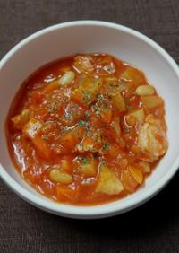 食べるトマトスープ☆トマト嫌いさんお試し