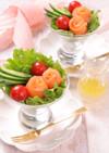 母の日☆サーモンの簡単お花ブーケサラダ