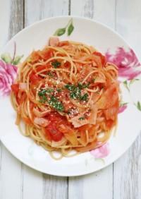 簡単に作れるランチレシピ♪トマトパスタ