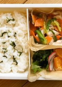 鶏と野菜あんかけのお弁当