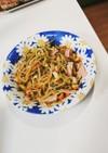 もやしときゅうりとハムの中華サラダ