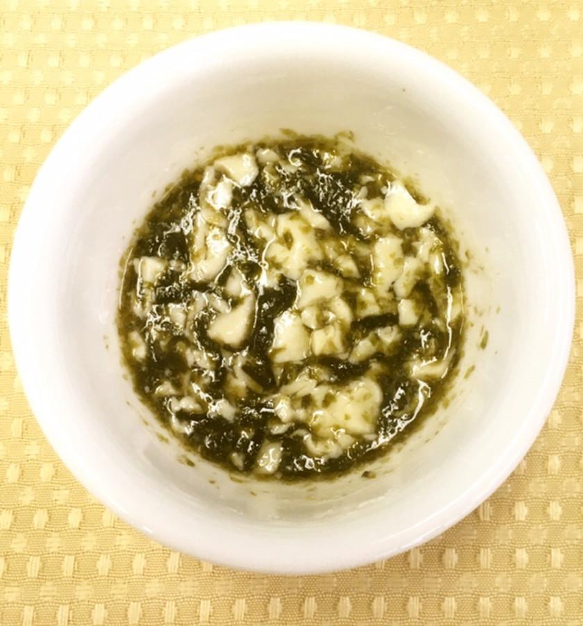 【離乳食7か月~】のりと豆腐のとろみ煮