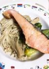 【準備5分!】鮭と野菜の酒蒸し