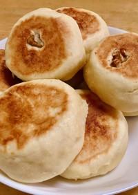 フライパンで!発酵なしパン