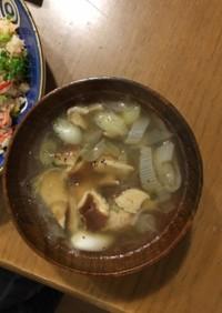 簡単美味しい!鶏団子の中華春雨スープ