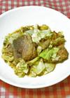 パッククッキング「サバとキャベツの煮物」