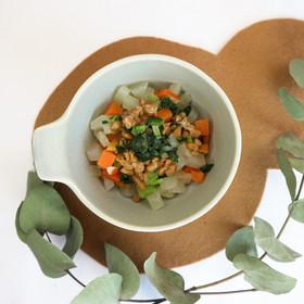 【離乳食完了期】カラフル納豆和え