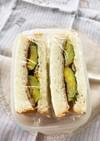 芽キャベツのサンドイッチ