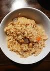 玄米五目煮豆ご飯