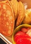 【離乳食後期〜】バナナパンケーキ