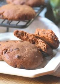 HMで簡単♡ココアチョコチップクッキー