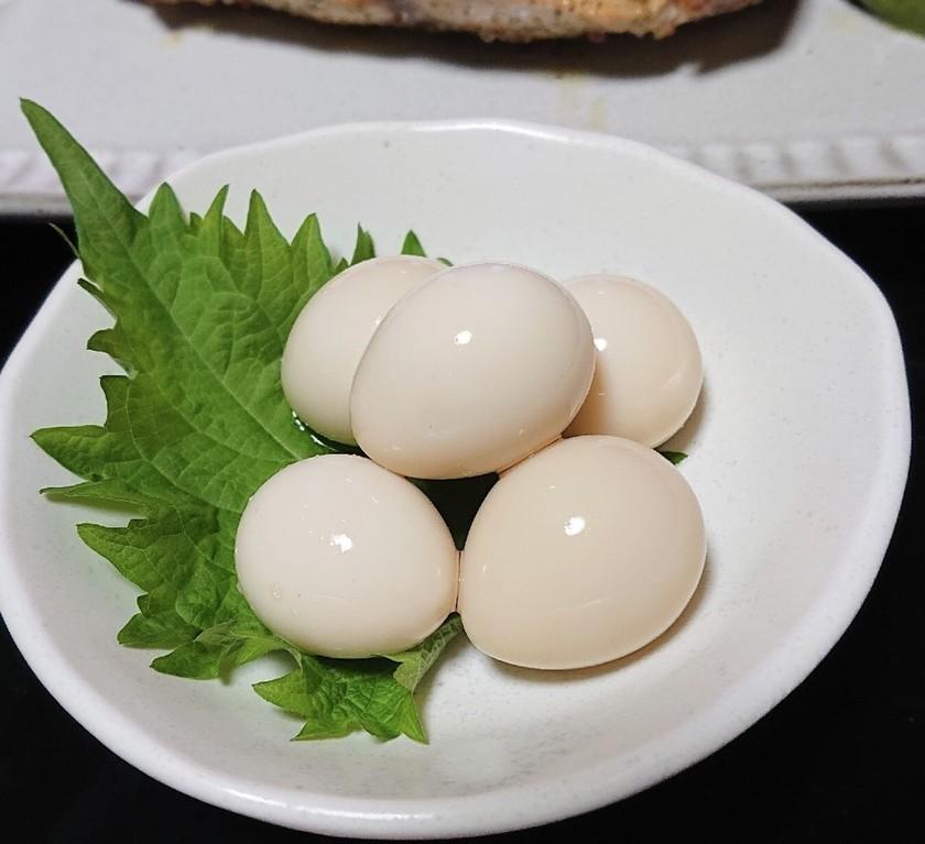 うずらの卵の柚子胡椒味玉