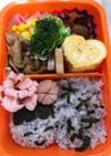 幼稚園最終日のお弁当