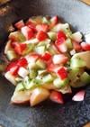 フルーツヨーグルト!りんご 蜂蜜