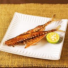 魚の骨せんべい