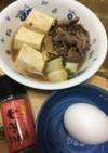 肉豆腐鍋(牛すき風)