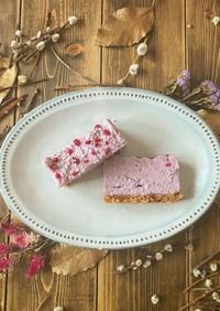 簡単絶品★紫いものココナッツローケーキ