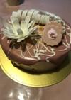 ストロベリーミルフィーユケーキ
