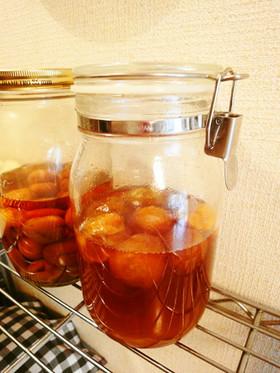 簡単☆冷凍してから漬ける梅シロップ
