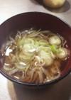 コンニャク麺の立ち食いうどん風