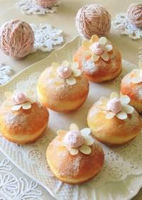 いちごクリームドーナツ*母の日イースター