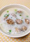 朝食や夜食に食べたい♫簡単アサリの雑炊