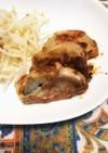 蓮根の豚肉巻き 梅味噌ソース