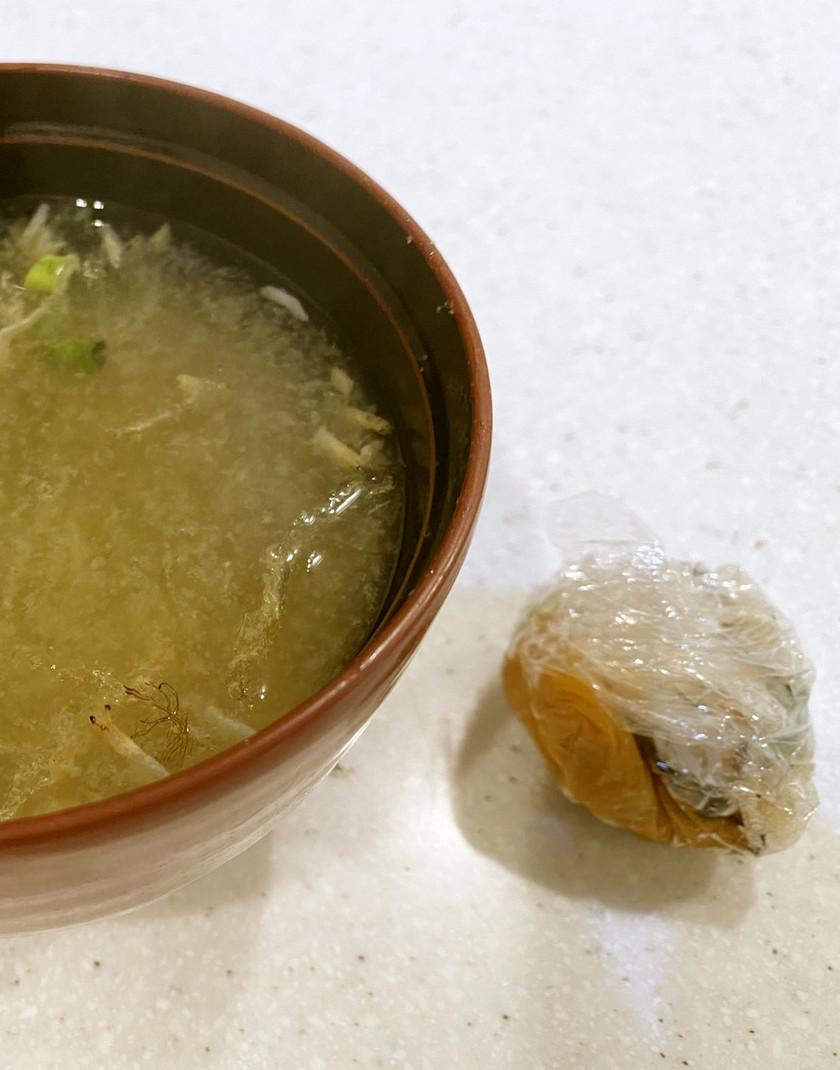 冷凍作り置き☆味噌玉で簡単美味しい味噌汁