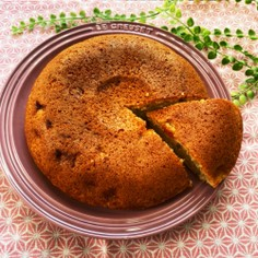 炊飯器でバナナケーキ♪(HM使用)