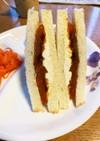 あんぽ柿のサンドイッチ^ ^
