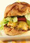 ハンバーガー (ステーキソース醤油味)