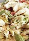 白菜とコンビーフのサラダ