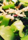 お弁当に♪5分で簡単♪めんまと小松菜和え