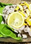 レモン塩麹のたれで☆豚しゃぶサラダ